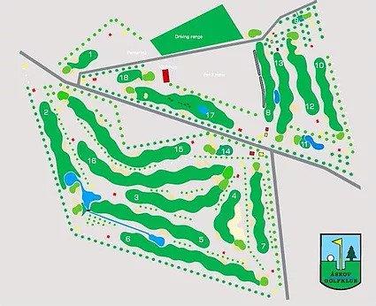 Åskov Golfbanens 18 huller